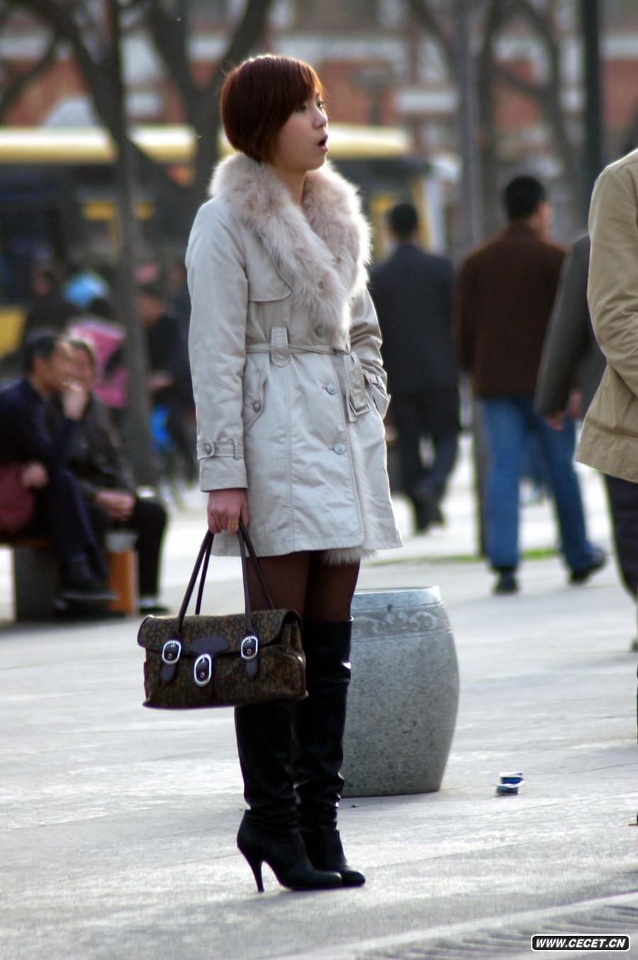 _冬天长靴搭配丝袜_长靴搭配丝袜_高跟长靴丝袜美女 ...