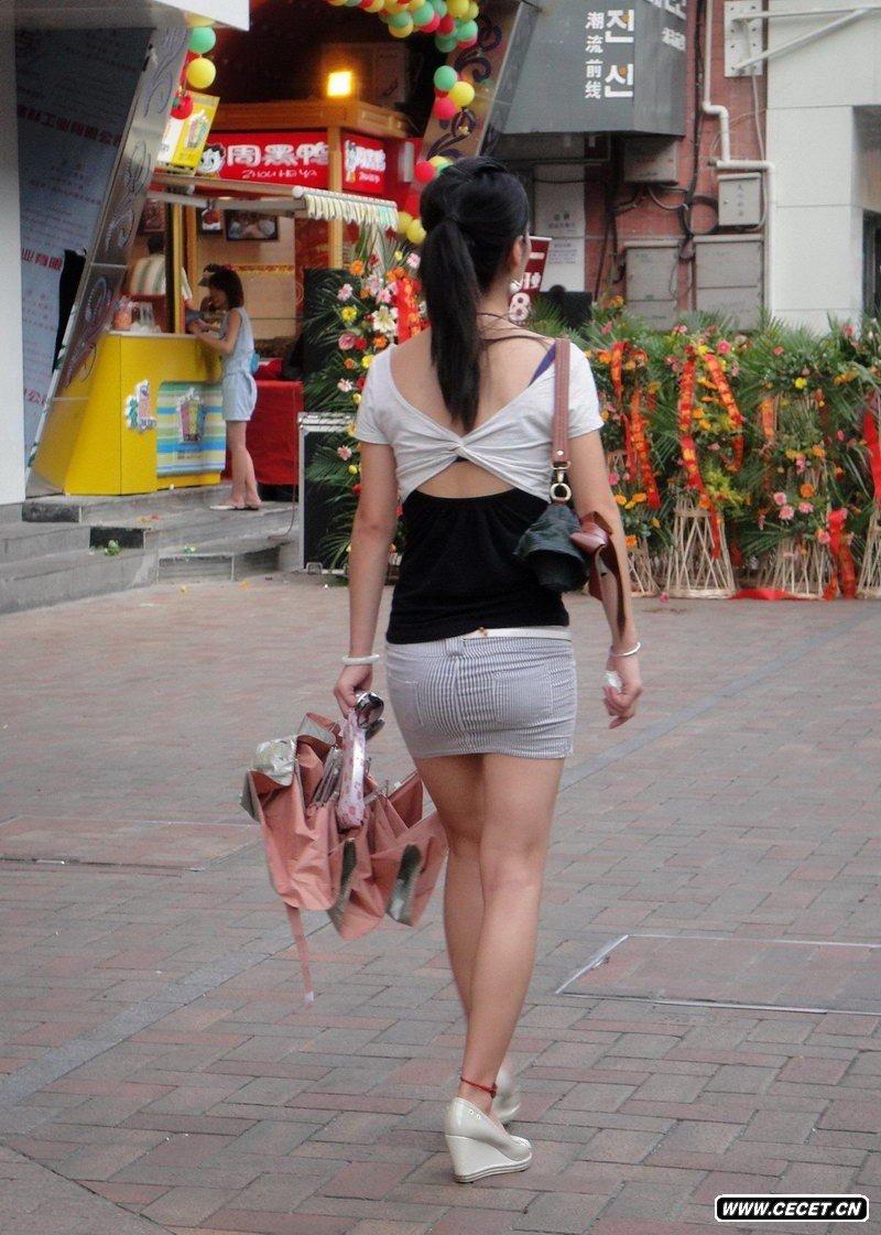 成都琴台路街拍的清凉美女 - 酷爱熟女 - 酷爱熟女
