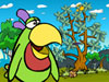 [动作]鹦鹉找芒果
