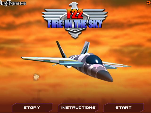 [射击]f22战斗机