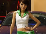 北京车展 阿尔特展台车模