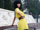 黄色连衣裙的清纯妹妹
