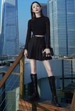 古力娜扎小黑裙亮相