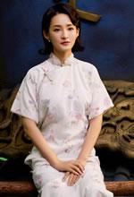 李沁民国旗袍复古造型